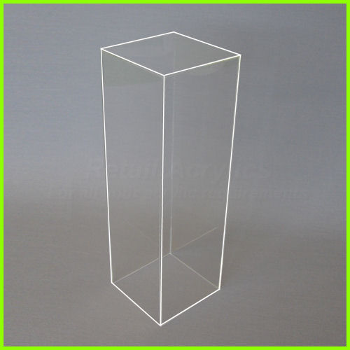 base risers racks merchandisers pedestal solid pedestals displays cylindrical cubes acrylic clothing dia