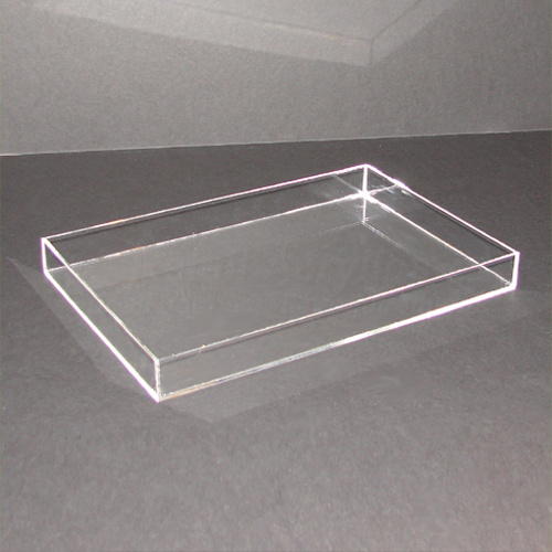 30cm x 20cm clear acrylic tray. Black Bedroom Furniture Sets. Home Design Ideas