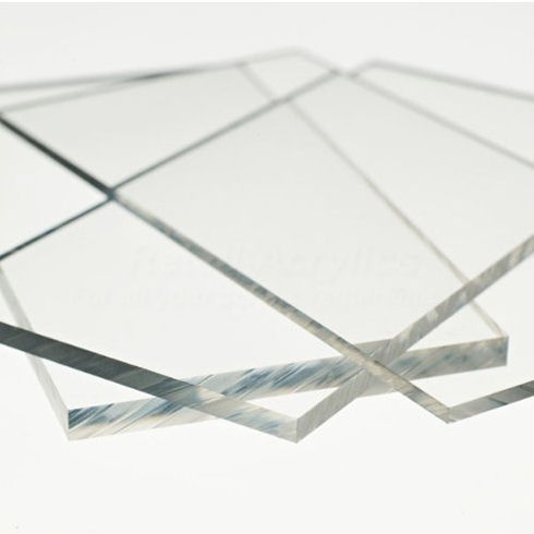 5mm Clear Acrylic Sheet - 500 X 500mm