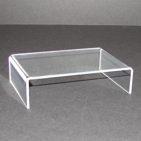 Clear Acrylic Monitor Stand  Regular