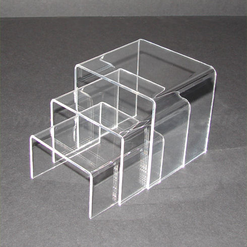 Small  Clear Acrylic Nesting Bridges