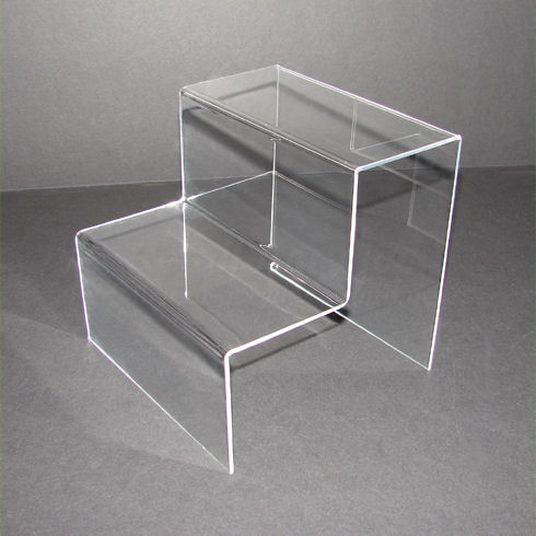 Standard - Clear Acrylic 2 Step Display Stand