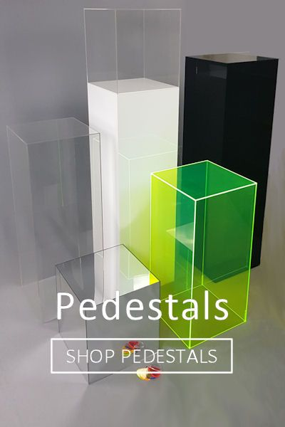 Acrylic Pedestals and Plinths